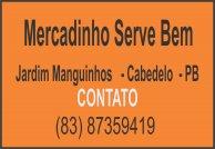 MERCADINHO SERVE BEM