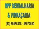 RPF SERRALHARIA & VIDRAÇARIA