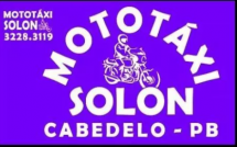 MOTO TÁXI SOLON - CABEDELO - PB