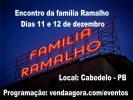 FAMÍLIA RAMALHO -  1º ENCONTRO