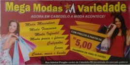 MEGA MODAS - VARIEDADES