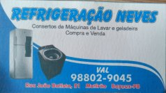 REFRIGERACAO NEVES - CABEDELO