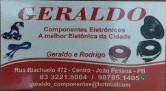 GERALDO - RODRIGO - JOAO PESSOA - PB